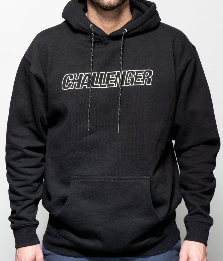 "Image of ""one of our logos"" Hooded Sweatshirt"