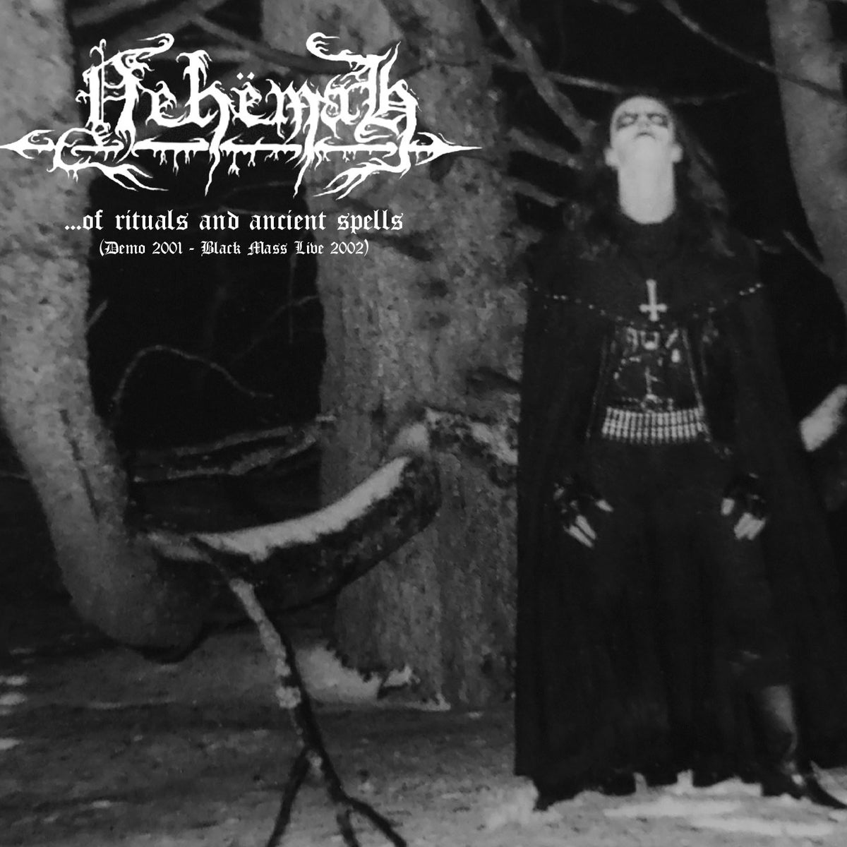 NEHEMAH -...OF RITUALS AND ANCIENT SPELLS (DEMO 2001 - BLACK MASS LIVE 2002)- DIGI-CD