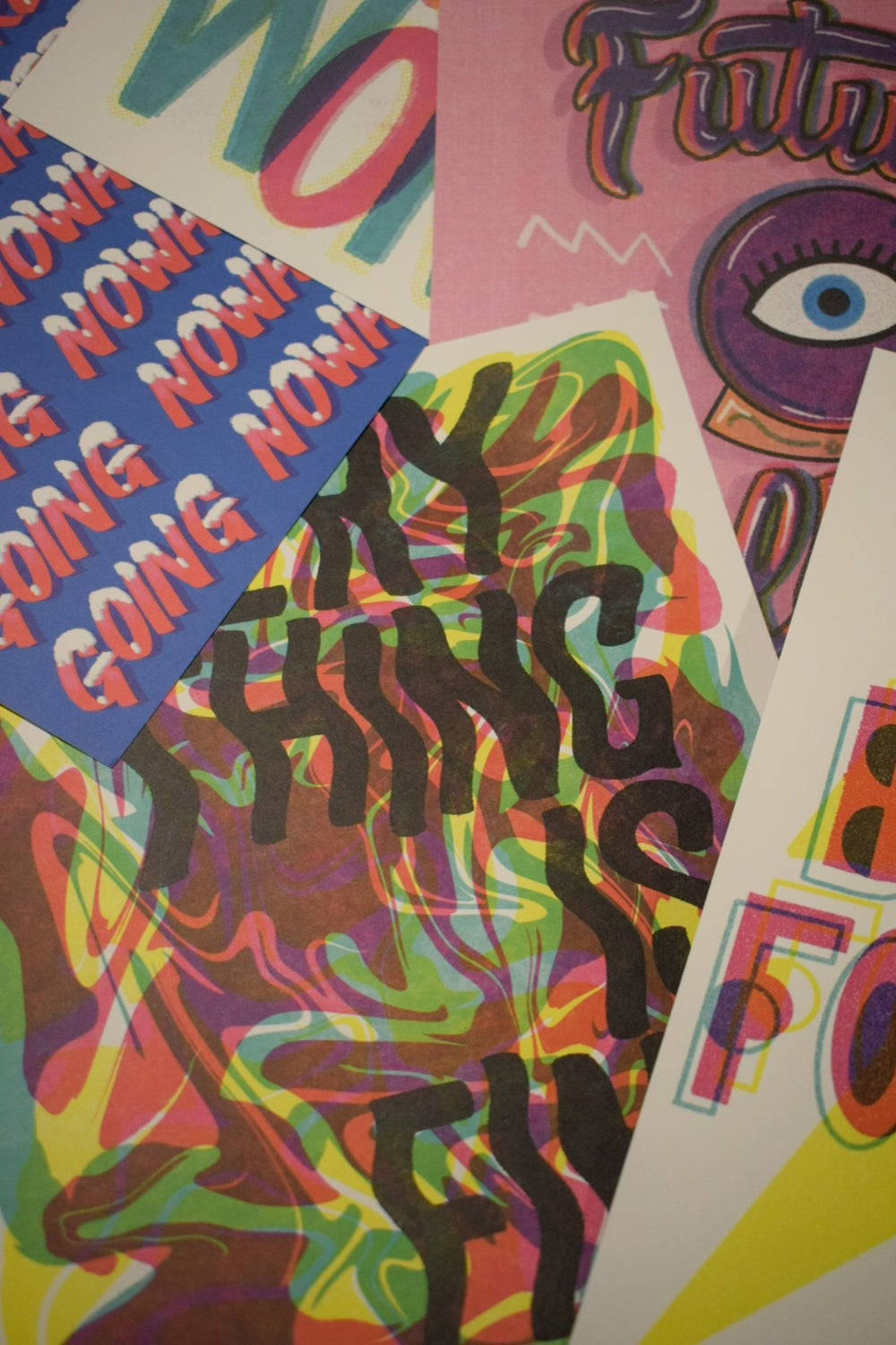 EVERYTHING IS FINE ART PRINT