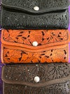 New! Leather Wristlet/ Wallet