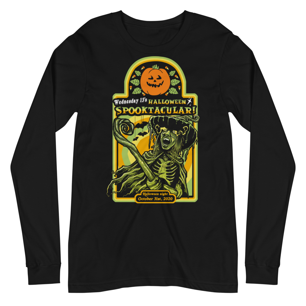 "Image of WEDNESDAY 13 ""HALLOWEEN SPOOKTACULAR"" - UNISEX LONGSLEEVE"