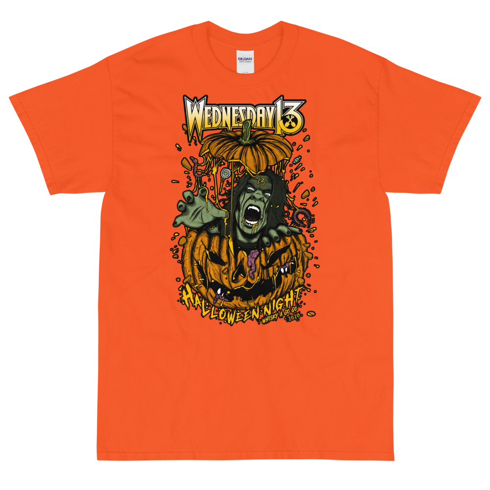 "Image of WEDNESDAY 13 ""HALLOWEEN BAT THINGS"" - UNISEX TEE"