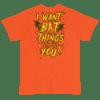 "WEDNESDAY 13 ""HALLOWEEN BAT THINGS"" - UNISEX TEE"