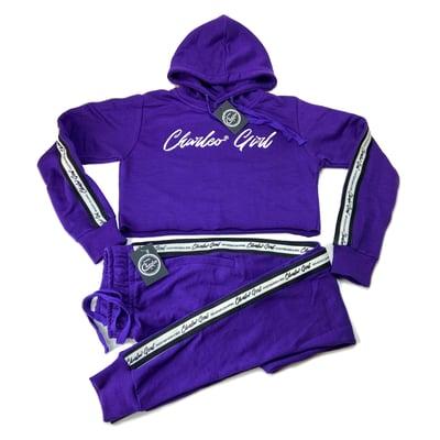 Image of Charleo Girl Crop Sweatsuit