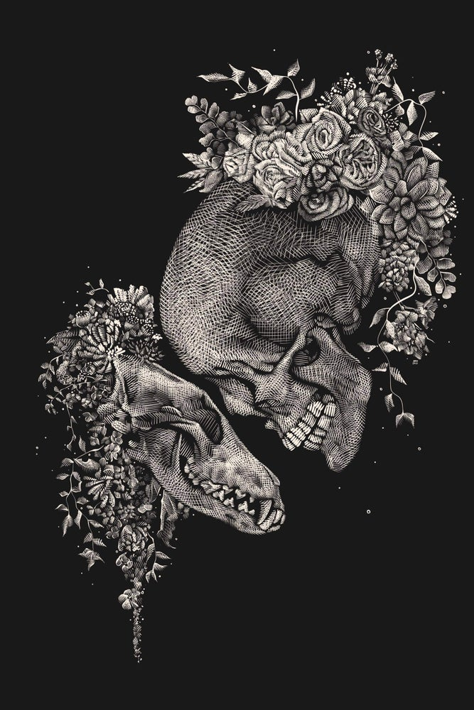 Image of 'Beloved Companion' - Fitted Racerback Tank Preorder