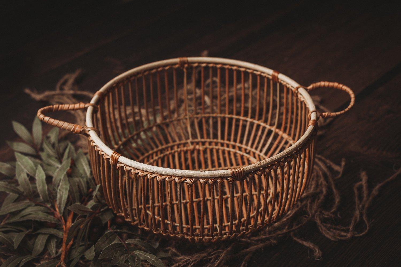 Image of Rattan Newborn/Sitter Basket