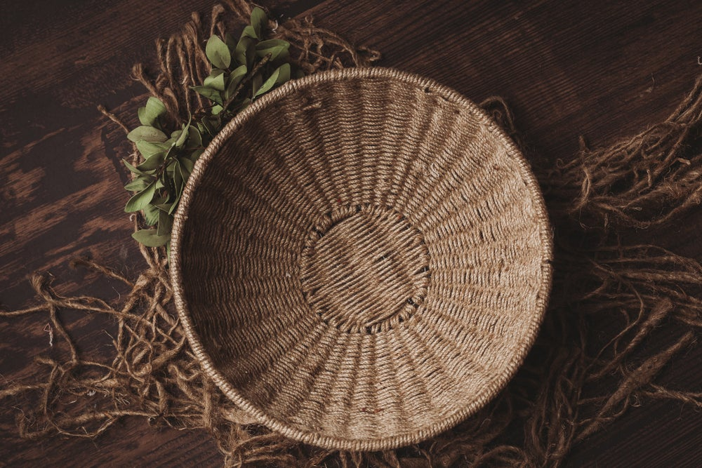 Image of Jute Newborn Bowl