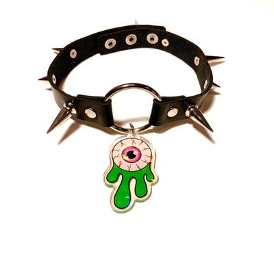 Image of Eyeball Slime O-Ring Choker