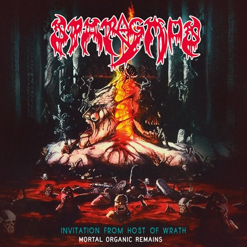 Image of Sparagmus - Invitation From Host Of Wrath CD