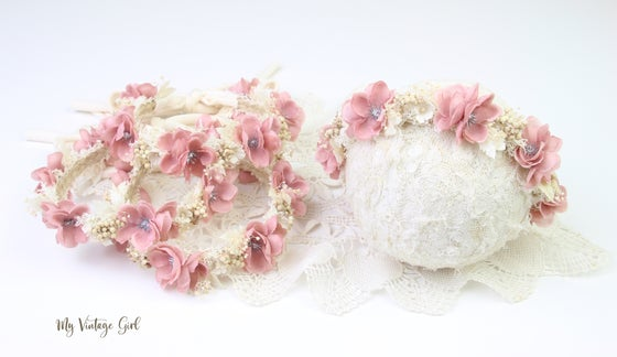 Image of Floral Halo/Tieback