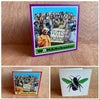 Greetings card - Womanchester & Suffragette Bee