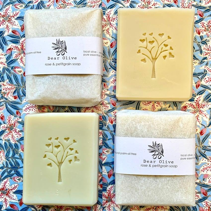 Image of petitgrain & rose soap