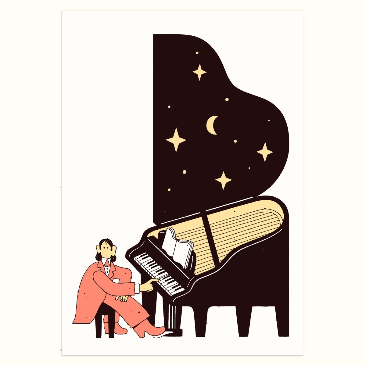 Image of Pianist (Red edition)