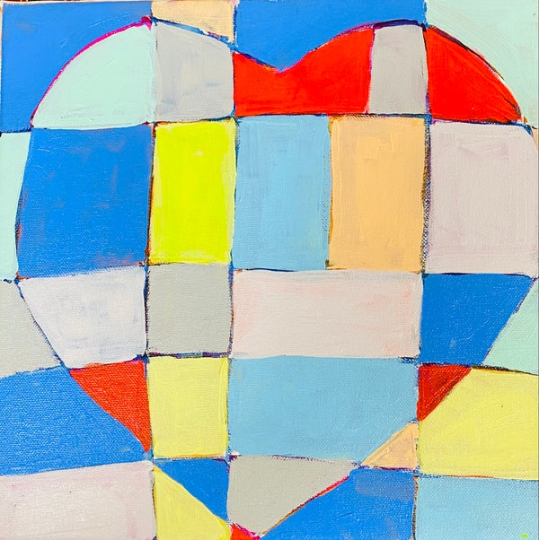 Image of Patchwork Heart