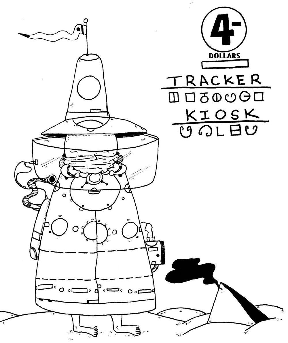 Image of Tracker Kiosk (Fluke Publishing)