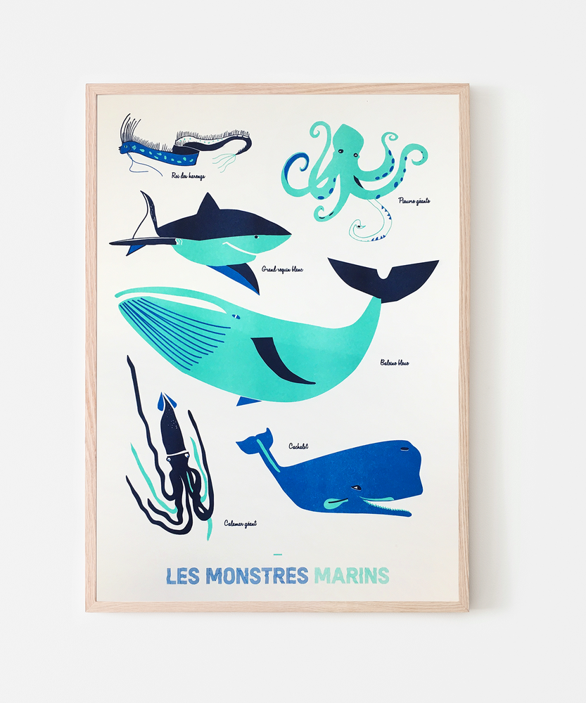 Image of Les monstres marins