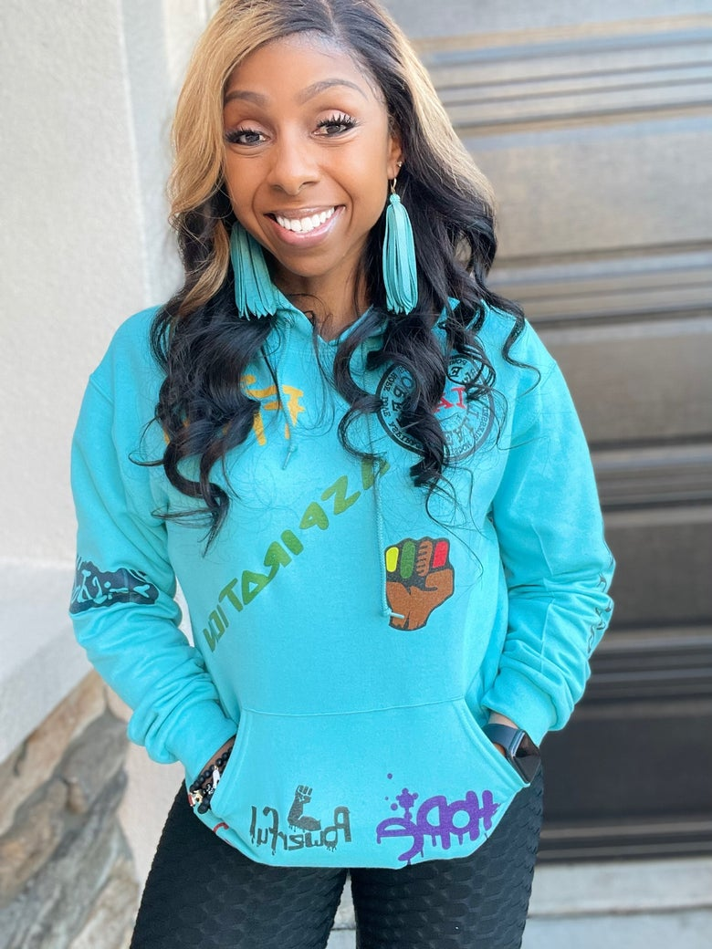 Image of Limited Edition IAM Affirmation Patch Pullovers