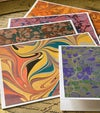 Marbled Notecards Canson Mi-Teintes Assortment