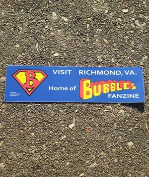 Image of Bubbles Bumper Sticker