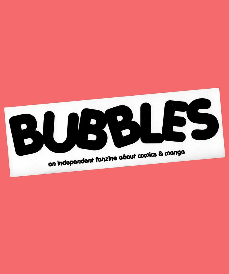 Image of Bubbles Sticker