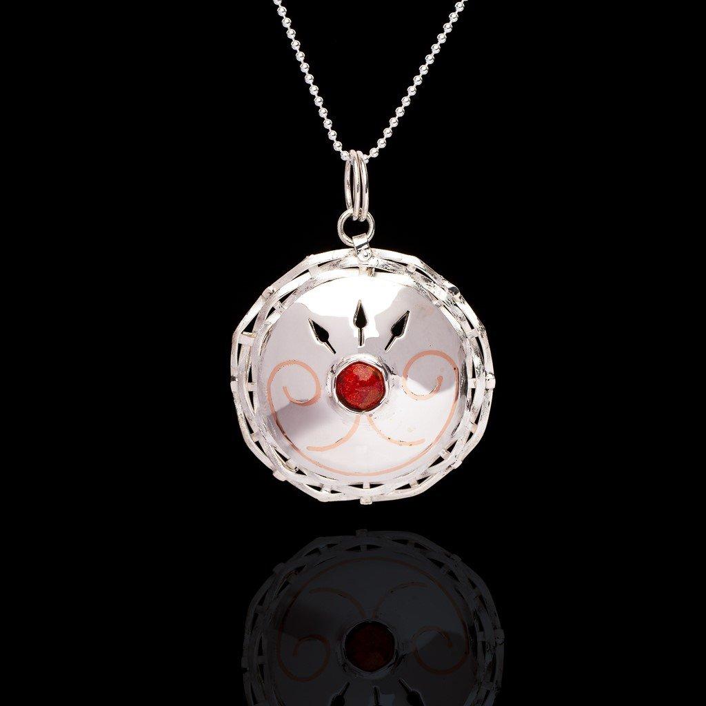 Image of Kisus Double Curve pendant
