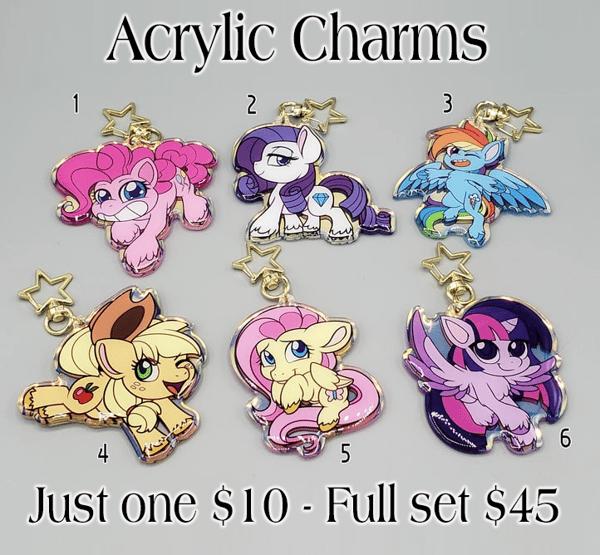 Image of Pony Life Style - Large Acrylic Charms