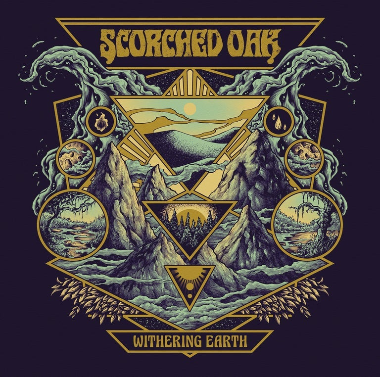 Image of Scorched Oak - Withering Earth Vinyl LP