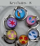 Image 1 of Cutie Mark Key-Chain