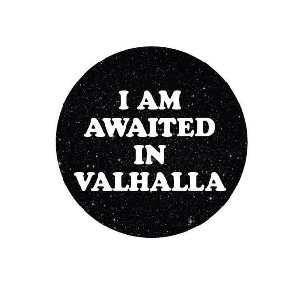 Image of badge mad max - valhalla