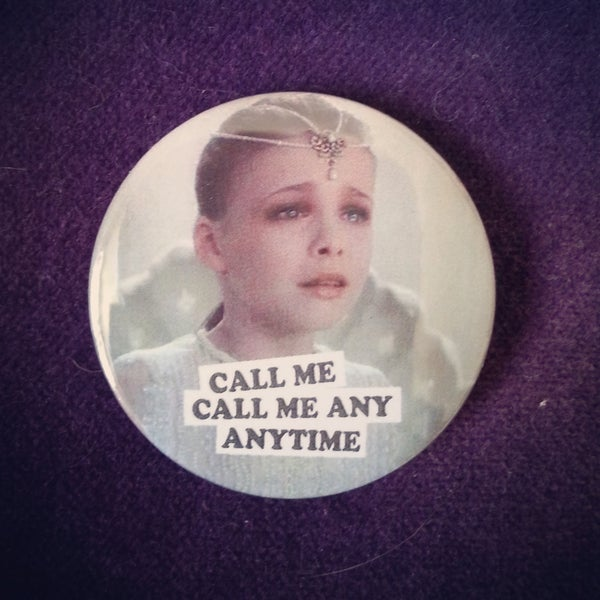 Image of badge l'histoire sans fin - the neverending story - call me