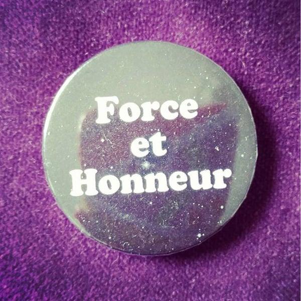 Image of badge gladiator - force honneur