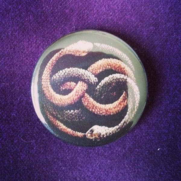 Image of badge l'histoire sans fin - the neverending story - auryn