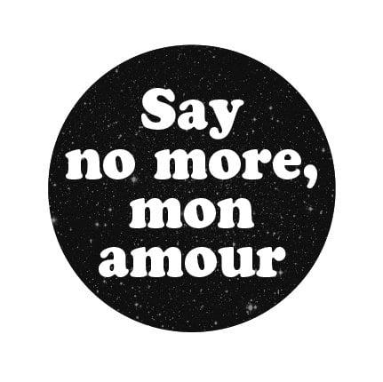 Image of badge empire records - say no more