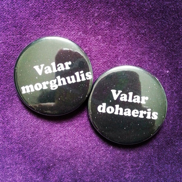 Image of badge game of thrones - pack valar
