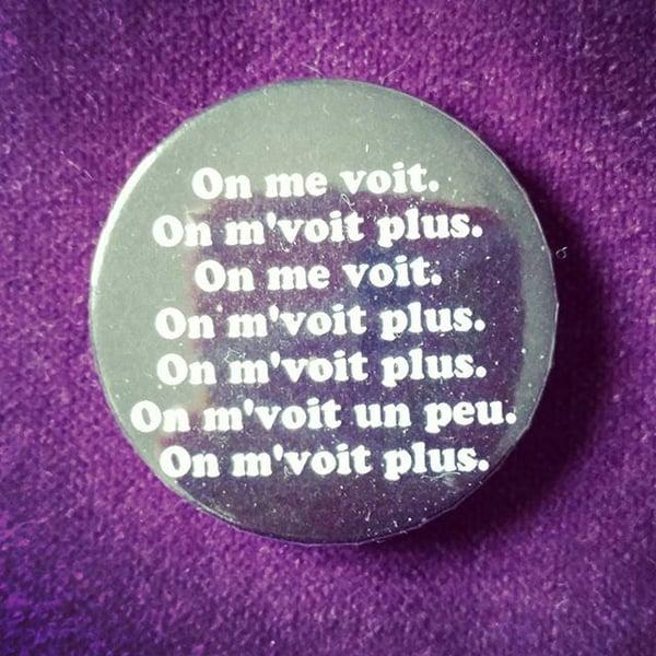 Image of badge astérix mission cléopâtre - on me voit