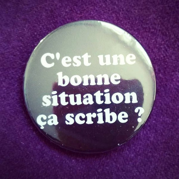 Image of badge astérix mission cléopâtre - situation