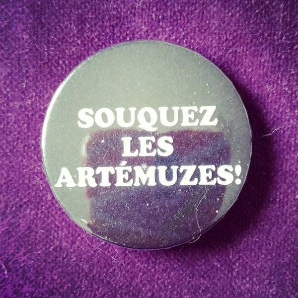 Image of badge astérix mission cléopâtre - souquez