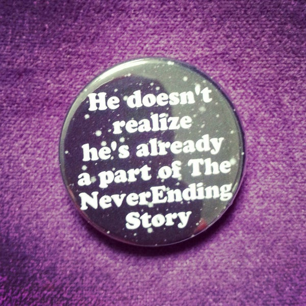 Image of badge l'histoire sans fin - the neverending story - part of