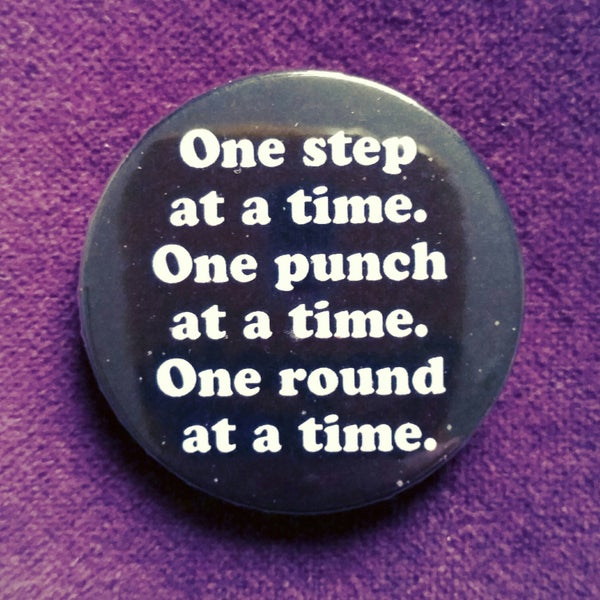Image of badge rocky - one step