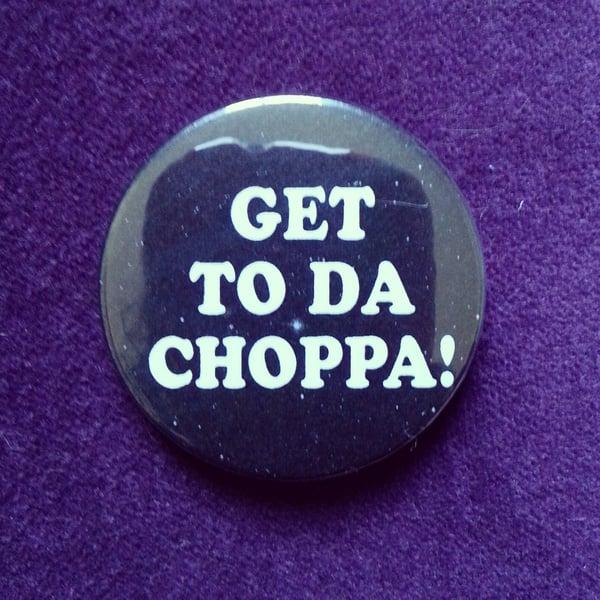 Image of badge predator - choppa