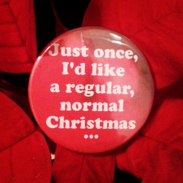 Image of badge piège de cristal - die hard - normal christmas