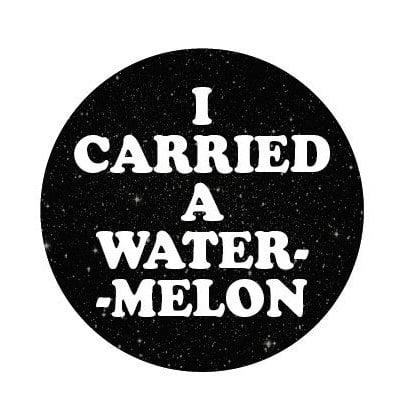 Image of badge dirty dancing - watermelon
