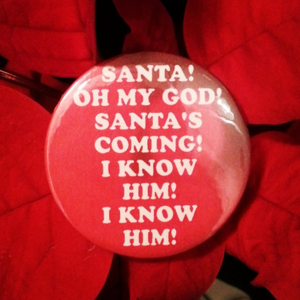 Image of badge elfe - elf - i know him