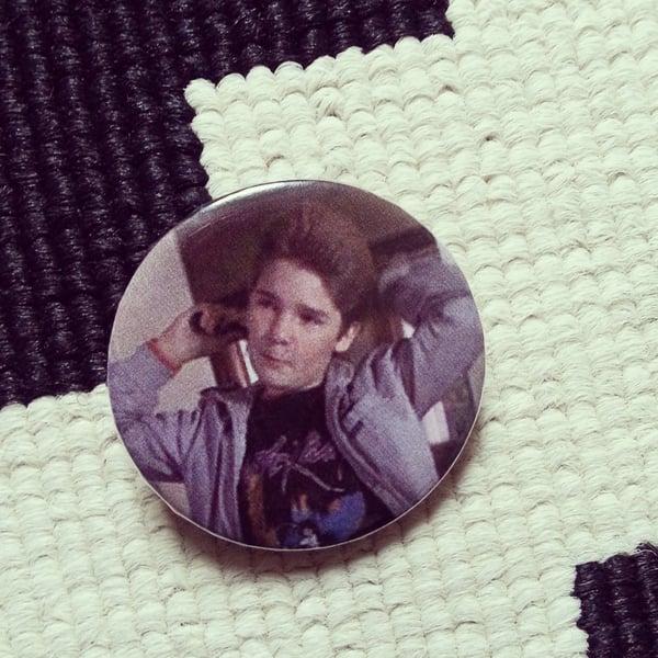Image of badge goonies - bagou