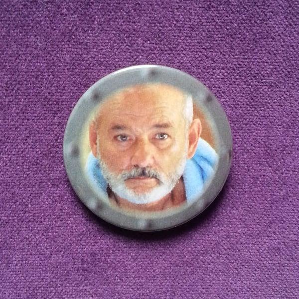 Image of badge la vie aquatique - the life aquatic - steve zissou