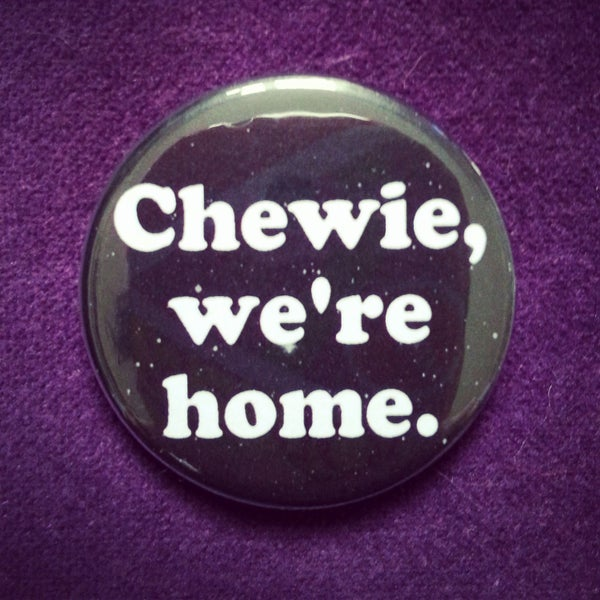 Image of badge star wars - home