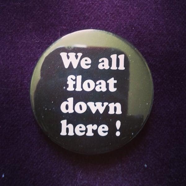 Image of badge il est revenu - it - float
