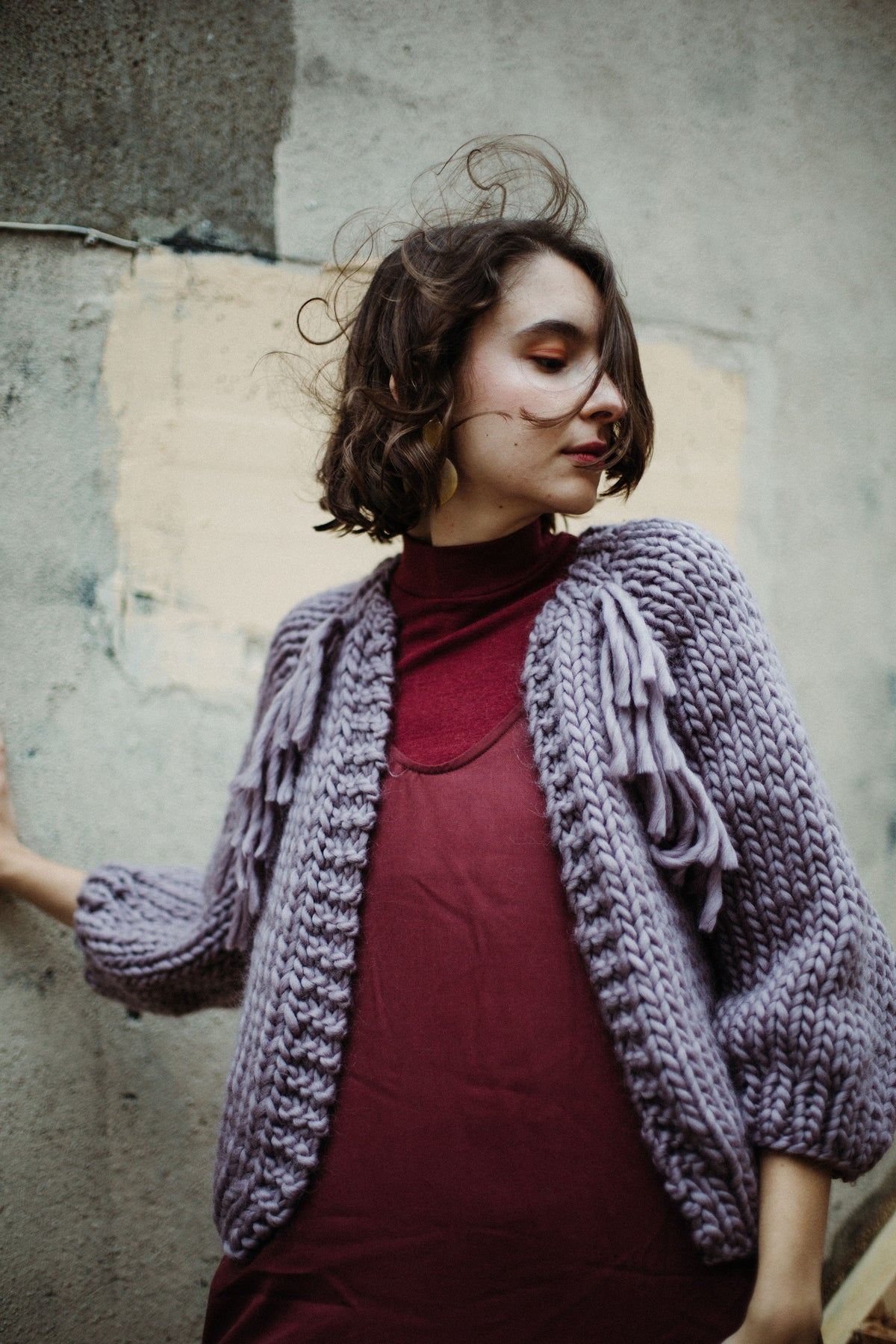 Image of Knitting Pattern - Perth Cardigan