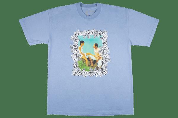 Image of Jason's Lyric T-Shirt Clear Blue