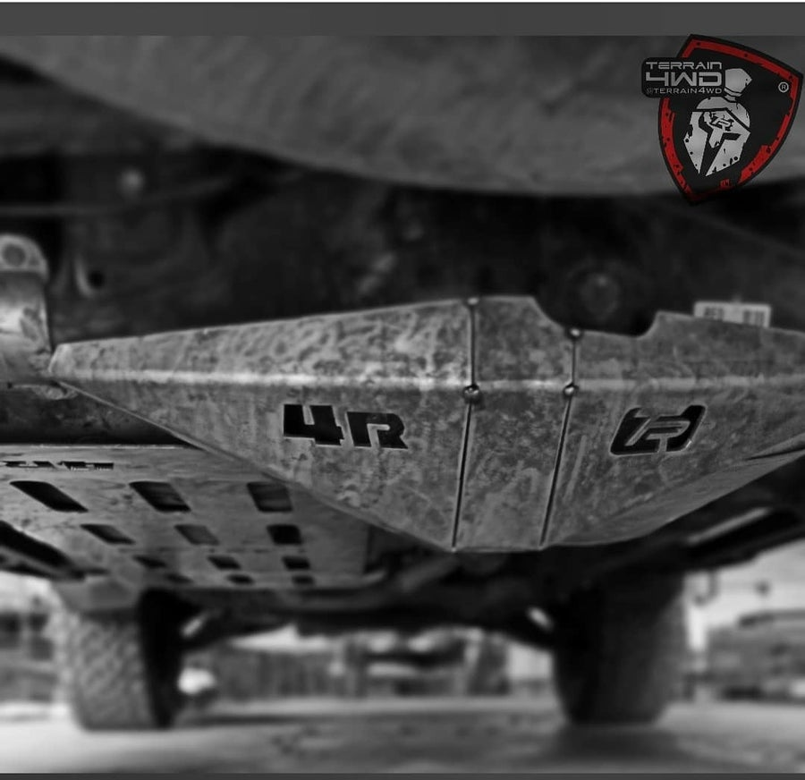 Image of Terrain 4wd differential skid plate protection 4runner 2010+